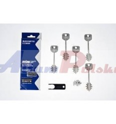 Wkładka MIA Dierre 3110 - 5 kluczy 92mm