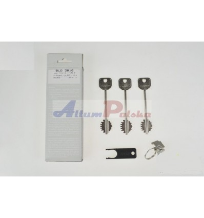 Wkładka MIA Dierre 3810 - 3 klucze 107mm