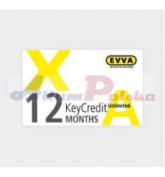 EVVA XESAR KeyCredit 1 ROK