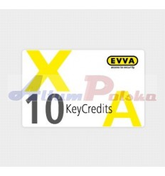 EVVA AIRKEY KeyCredits 10