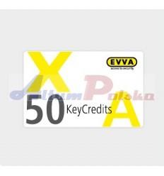 EVVA AIRKEY KeyCredits 50