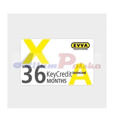 EVVA AIRKEY KeyCredits 3 LATA