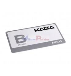 Karta programująca KABA Master B Legic